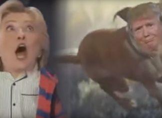John Lewis Hillary and Trump